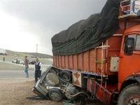 لحظه برخورد کامیون به دکل ۶۳ کیلو ولت! +فیلم