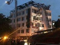 آتشسوزی در هند ۱۷ کشته برجای گذاشت +فیلم