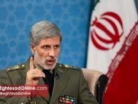 وزیر دفاع: موشکهای یمنیها ساخت ایران نیستند