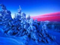 آسمان داغ زمین یخی +عکس