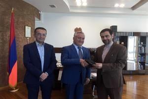 انتقال تجربیات بانکی میان ایران و ارمنستان