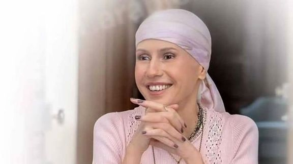 ظاهر همسر بشار اسد بعد از شروع شیمی درمانی +عکس