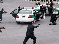 درگیری مسلحانه اشرار با ماموران نیروی انتظامی