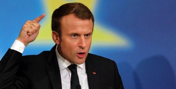 ماکرون از آزادی یک زندانی فرانسوی در ایران خبر داد