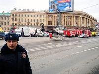 حال و هوای سنپترزبورگ بعد از حادثه تروریستی در ایستگاه مترو