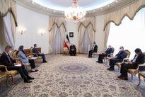 دیدار وزیر خارجه سوئیس با روحانی +عکس