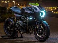 استفاده از انرژی باد در موتورسیکلتهای هوندا +عکس