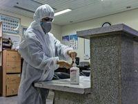 جهادگران مبارزه با کرونا در بیمارستان صیاد شیرازی +تصاویر