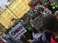 تظاهرات مخالفان سفر نتانیاهو به لندن +تصاویر