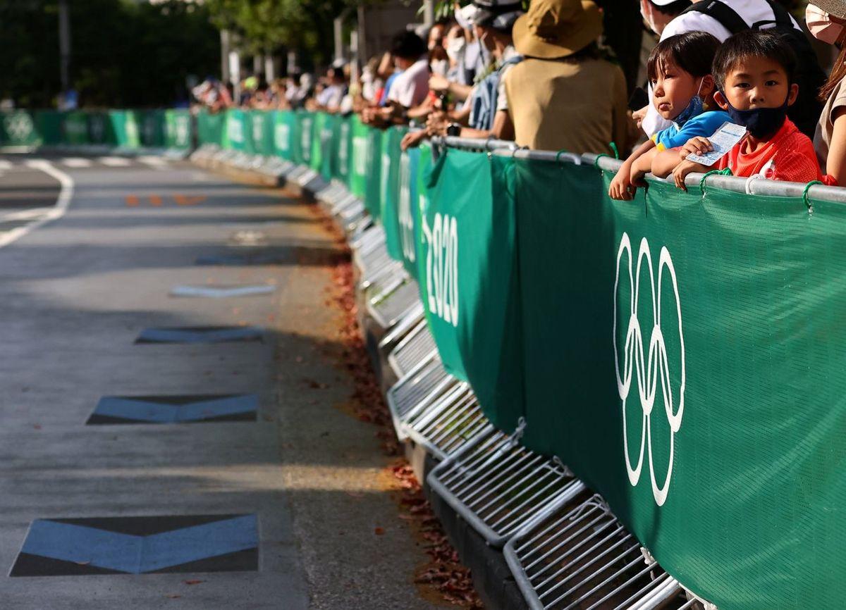 اولین رویداد المپیک۲۰۲۰ که با تماشاگر برگزار شد / ژاپنی ها به خانه نرفتند + عکس