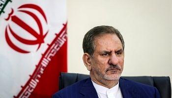 جهانگیری: پیام آشکار سفر متقابل مقامات ایرانی و عراقی، عزم جدی دو کشور برای توسعه مناسبات است/ ایران در دوران بازسازی در کنار دولت و ملت عراق خواهد بود