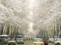روز برفی خیابان ولیعصر در سال ۶۵ +عکس
