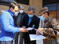کمکهای پزشکی ارتش چین وارد ایران شد