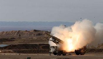 پدافند موشکی میانبرد مرصاد بندر ماهشهر یک پهپاد را ساقط کرد