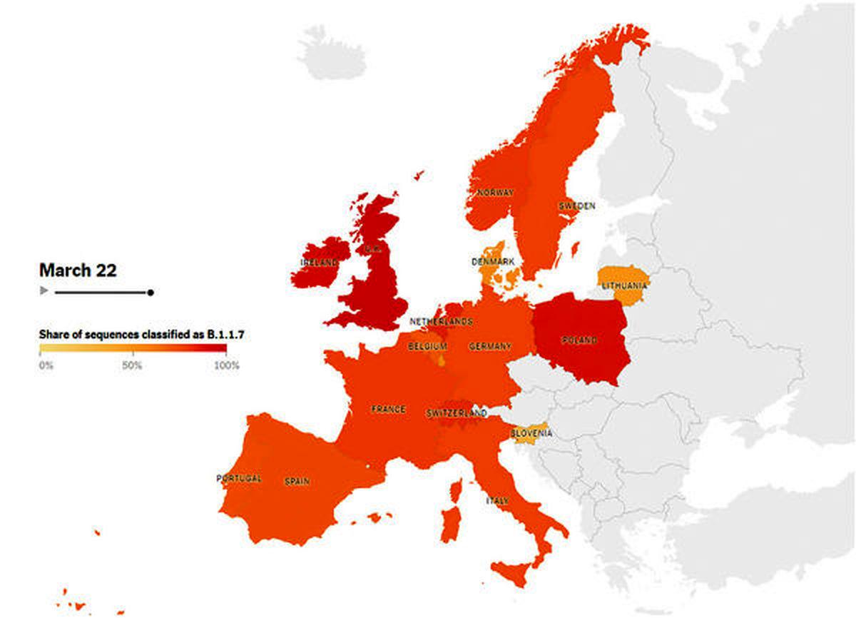 طغیان کرونا در اروپا