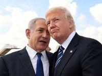ترامپ به نتانیاهو تبریک گفت