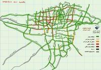 آخرین وضعیت ترافیکی صبح پایتخت +نقشه