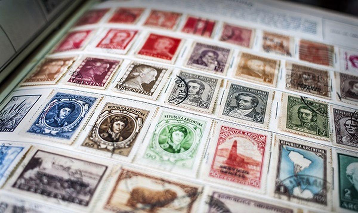 گرانترین تمبرهای پستی جهان + عکس