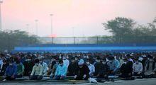 اقامه نماز عید فطر اهل سنت +تصاویر