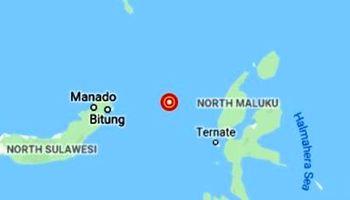 زلزلهای بسیار قدرتمند شرق اندونزی را به لرزه درآورد