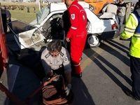تصادف در جاده شوشاب یک کشته برجای گذاشت