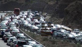 اعمال محدودیت ترافیکی در محورهای هراز و فیروزکوه