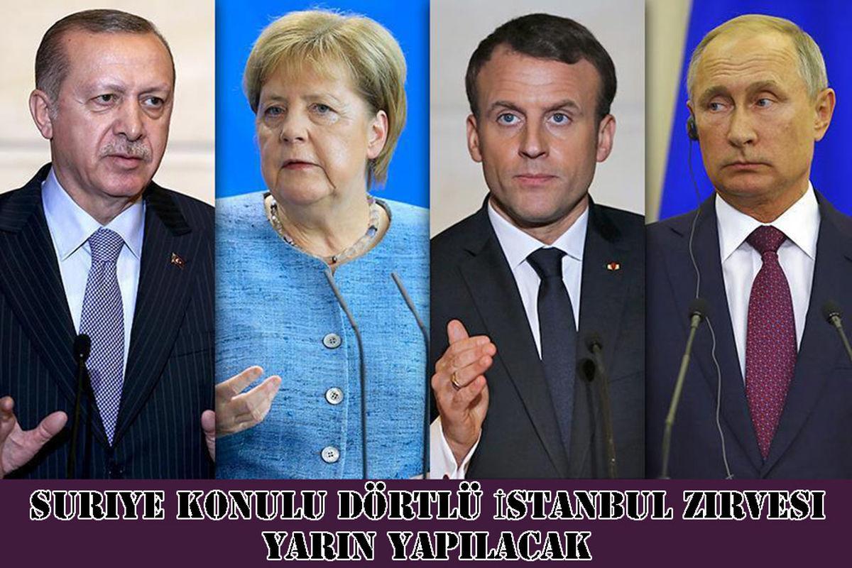 استانبول فردا میزبان نشست چهارجانبه سوریه است