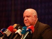 وزیر نفت در جمع خبرنگاران +تصاویر
