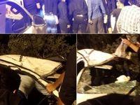 واژگونی پژو ۲۰۶یک کشته برجای گذاشت