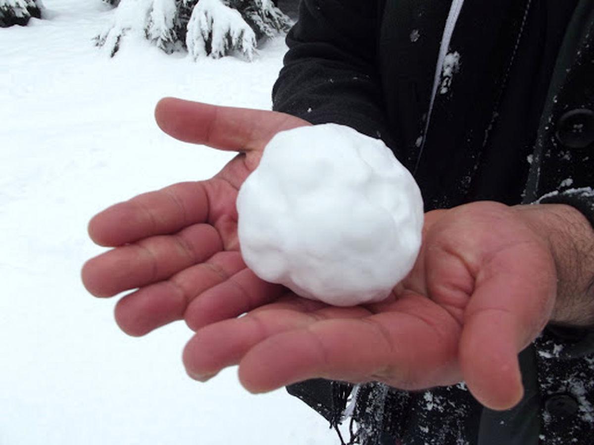 آیا خوردن برف خطرناک است؟