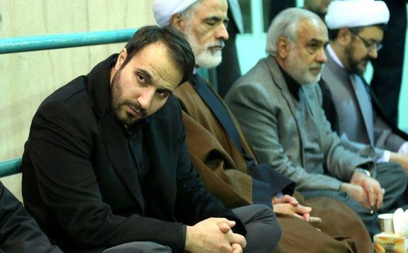 پسر سردار سلیمانی در شب شعر +عکس