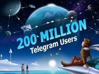 لشگر تلگرام ۲۰۰میلیونی شد