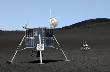 آزمایش روباتهای فضایی