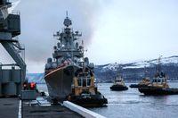 ناوگان دریایی روسیه در بندرچابهار پهلو میگیرند