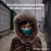 تلفات بر اثر آلودگی هوا بیش از کرونا است