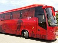 اتوبوس پرسپولیسیها بازهم سنگ خورد