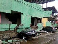 زلزله شدید در فیلیپین با ۲کشته و ۷۲مجروح +عکس