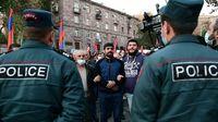 اعتراض ارمنیها به توافق صلح قرهباغ