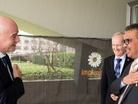 رئیس فیفا میهمان سازمان بهداشت جهانی +عکس