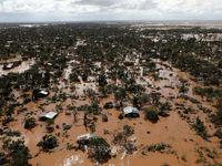 باران و سیل در آفریقا +تصاویر