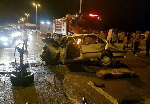 بیشترین آمار تلفات تصادفات مربوط به کدام استانها بود؟