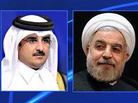 روحانی به امیر قطر پیام داد