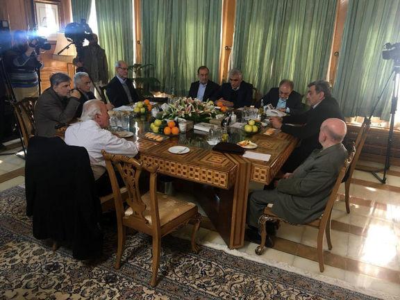 نشست شهرداران پس از انقلاب به میزبانی حناچی/ قالیباف با دعوت شخص حناچی هم نیامد