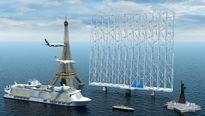 تامین برق با  بادگیر دریایی ۳۰۰ متری!  + عکس