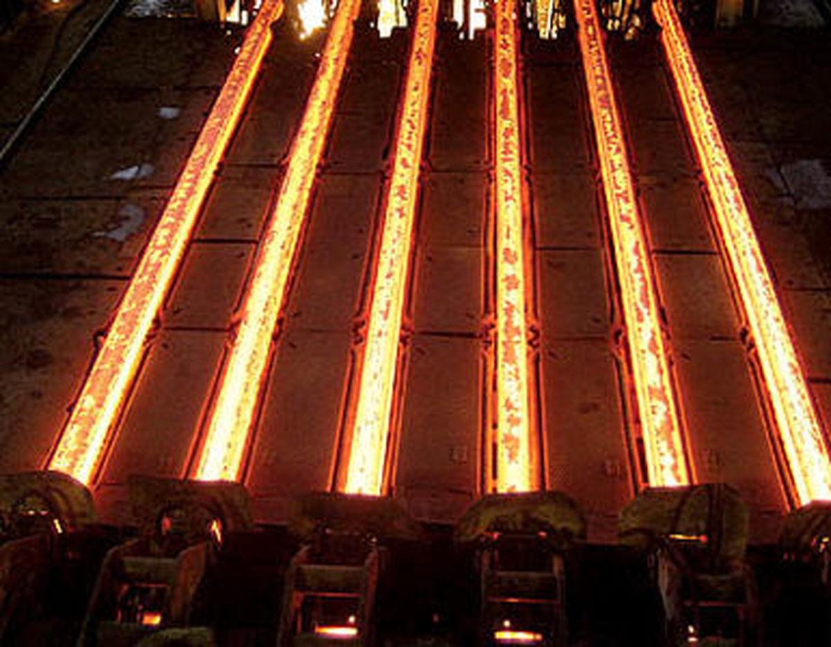 ظرفیت تولید فولاد به ۵۵میلیون تن افزایش مییابد
