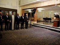 مردان دولت در کنار روحانی +عکس