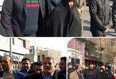 حضور خانواده هاشمی در راهپیمایی ۲۲بهمن +عکس