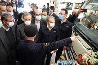 استاندار قزوین: بهمن دیزل اقدامات قابل تقدیری در تولید کامیونت و مینی بوس انجام داده است
