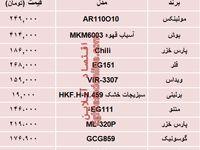 مظنه انواع آسیاب برقی در بازار تهران؟ +جدول