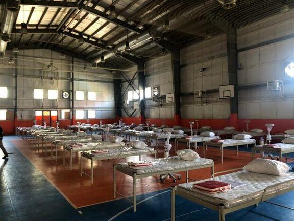 8سوله مدیریت بحران تهران آماده پذیرش بیماران کرونایی